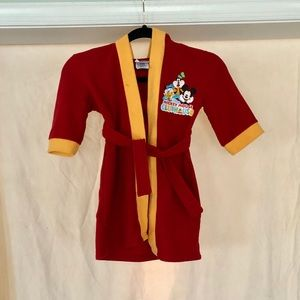 Disney Mickey Mouse Clubhouse Little Kids Robe